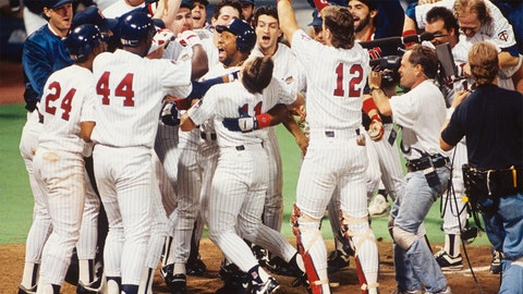 Kirby Puckett. Minnesota Twins vs. Atlanta Braves, Game 6, 1991: