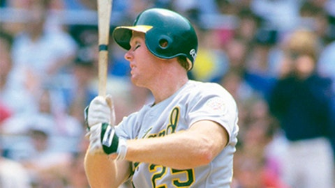 Mark McGwire. Oakland Athletics vs. Los Angeles Dodgers, Game 3, 1988:
