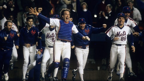 New York state of mind: 1986 Mets celebrate in extraordinary fashion
