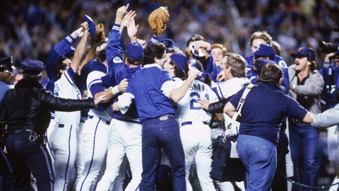 Party like it's 1985: Looking back on the Royals' last World Series championship