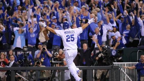 Royals: Kendrys Morales, designated hitter