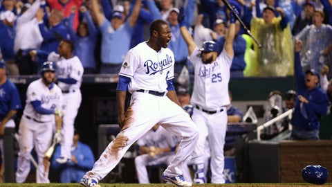 Royals: Lorenzo Cain, center field