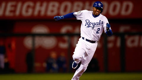 Alcides Escobar, 2015 Kansas City Royals
