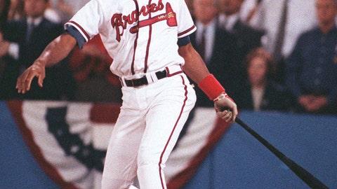 Francisco Cabrera, 1992 Atlanta Braves