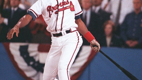Francisco Cabrera, 1992 Atlanta Braves