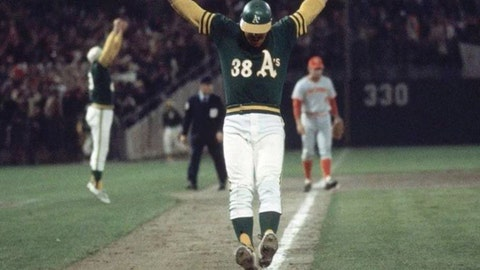 Gene Tenace, 1972 Oakland Athletics