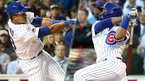 Cubs IF/OF Starlin Castro, IF/OF Javier Baez