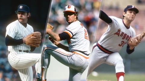1977 AL: Lyle (56), Palmer (48), Ryan (46), Leonard (45)