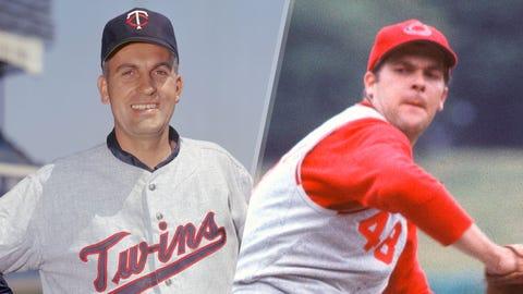 1970 AL: Perry (55), McNally (47), McDowell (45), Cuellar (44)