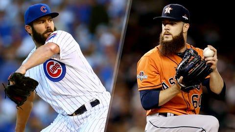 2015: Jake Arrieta, Cubs & Dallas Keuchel, Astros