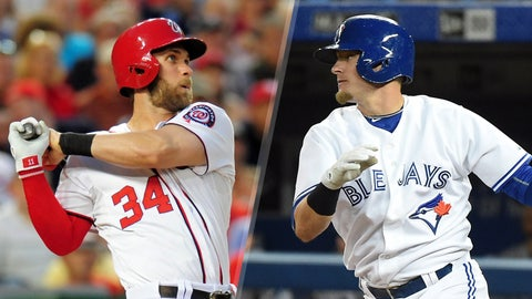 2015: Bryce Harper, Nationals & Josh Donaldson, Blue Jays