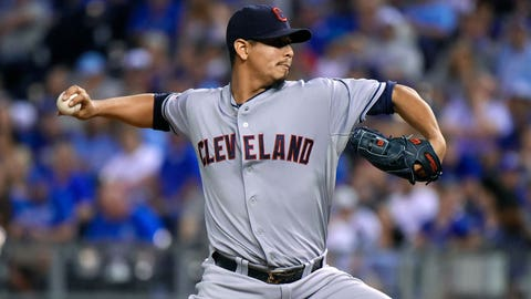 Fallback options: Indians' Carlos Carrasco