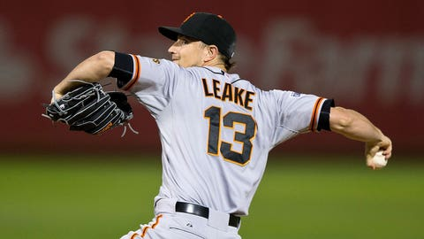 Fallback options: Free agent Mike Leake