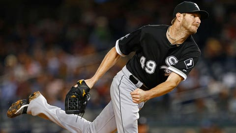 Fallback options: White Sox's Chris Sale