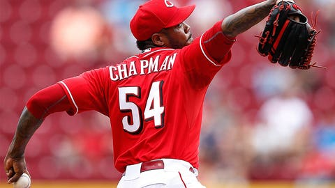 Losers: Aroldis Chapman, Cincinnati Reds, Los Angeles Dodgers