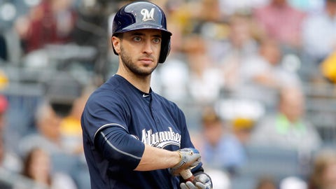 Brewers: Ryan Braun (1st round, 5th pick, 2005)