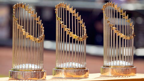 Have the Giants started clearing room in their trophy case?