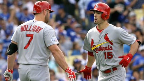Are the Cardinals set in the outfield?