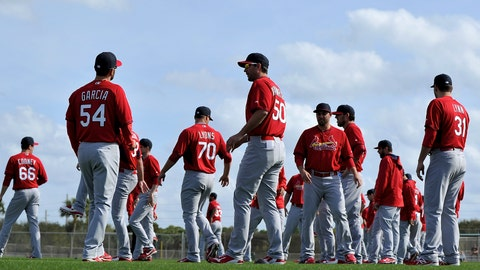 St. Louis Cardinals projected rotation for 2016