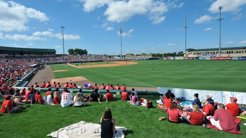 Roger Dean Stadium - Miami Marlins/St. Louis Cardinals (Jupiter, Fla.)