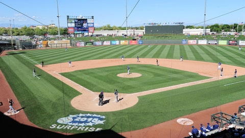 Surprise Stadium - Texas Rangers/Kansas City Royals (Surprise, Ariz.)