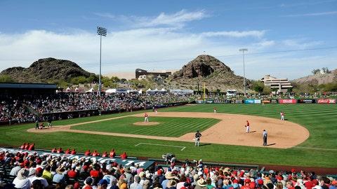 Tempe Diablo Stadium - LA Angels (Tempe, Ariz.)