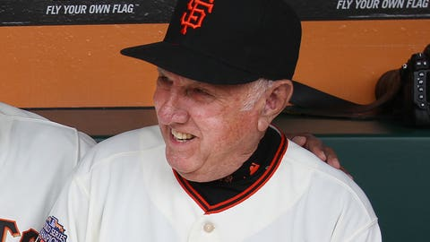 Jim Davenport, MLB third baseman, Aug. 17, 1933-Feb. 18, 2016