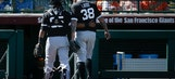 Ishikawa drives in 5 to lead White Sox over Giants 13-9