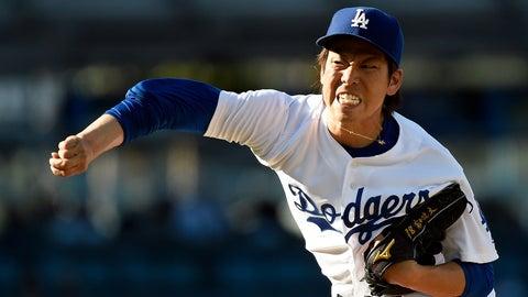 NL: Kenta Maeda, SP, Dodgers