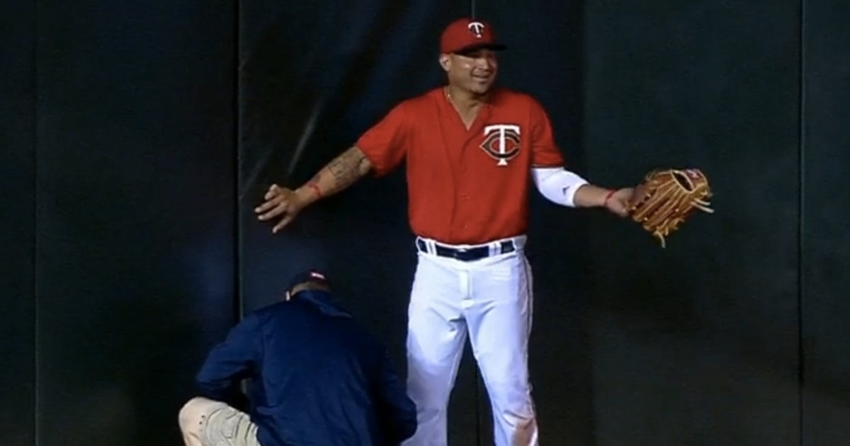 The Twins Broke The Outfield Wall And Used Duct Tape To