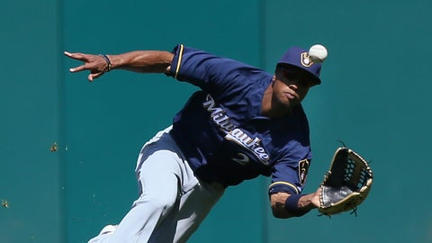 Keon Broxton, OF, Brewers