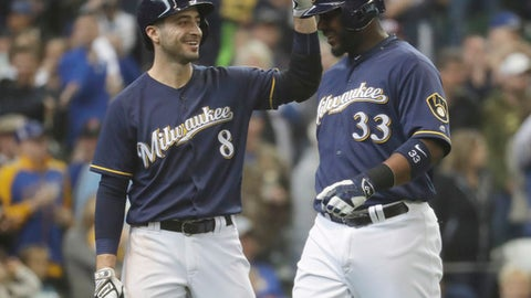 First base: Chris Carter, Milwaukee Brewers