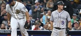 Kemp's 2-run double enough for Shields, Padres vs Rockies