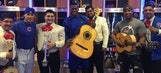 The Cubs hired a mariachi band for their clubhouse on Cinco De Mayo