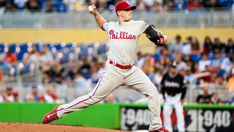 Starting pitcher: Jeremy Hellickson, Philadelphia Phillies
