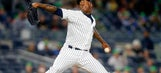 Yankees flamethrower Aroldis Chapman ties his own record for fastest pitch ever