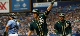Danny Valencia has career day, hits 3 homers to help A's edge Rays