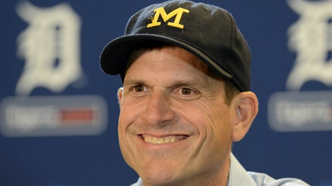 The Wolverines have Jim Harbaugh