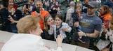 Holocaust survivor sings national anthem at Tigers game