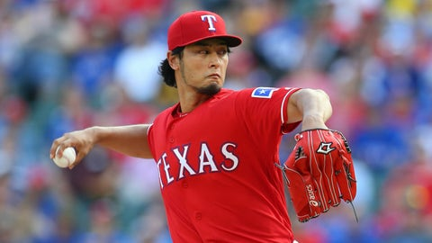 Yu Darvish | Rangers 4-time All-Star | 2012-14, 2017