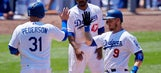 Home-run happy Dodgers rout Braves 12-6 for series sweep