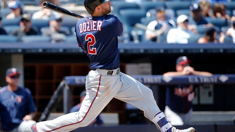 Second base: Brian Dozier, Minnesota Twins