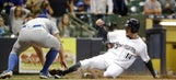 Urias wins first, Dodgers edge Brewers 6-5
