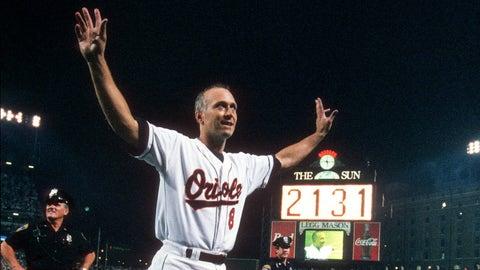 Cal Ripken Jr. set MLB's consecutive games played record