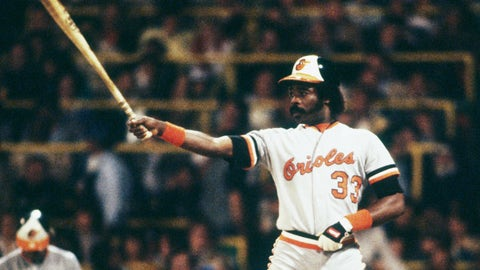 Eddie Murray, 3,255 hits