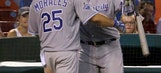 Kendrys Morales leads Royals to 4-2 win over Cardinals