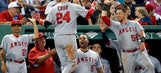 Blackjack! Angels beat Red Sox 21-2 behind Cron's 6 hits