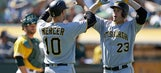 Liriano ends five-game skid in Pirates' 6-3 win over A's