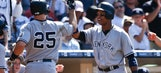 Teixeira hits 400th, 401st homers, Yankees beat Padres 6-3