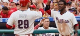 Eickhoff, Herrera, Franco lead Phillies over Braves 8-2